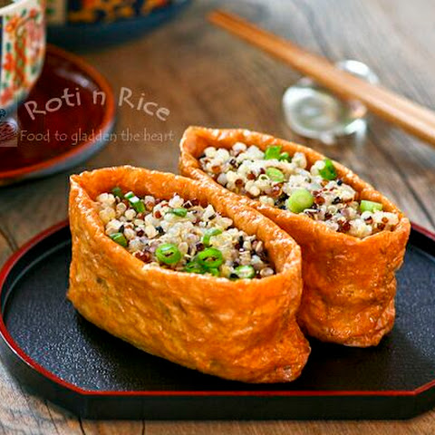 Quinoa Filled Tofu Pockets