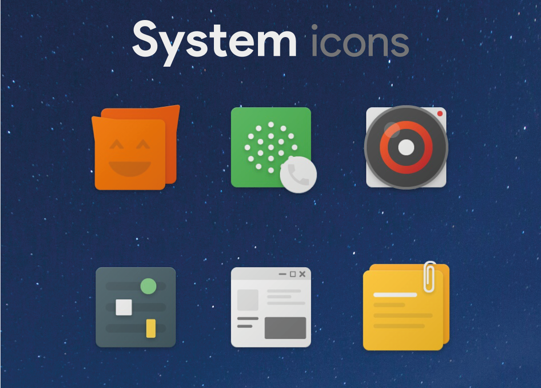 Peach icons Screenshot 1