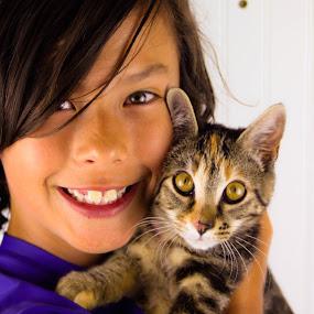 Mew the Cat by Bob Zendejas - Animals - Cats Portraits