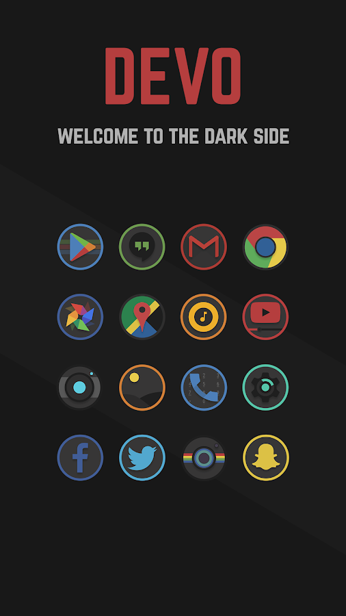 Devo Icon Pack Screenshot 0