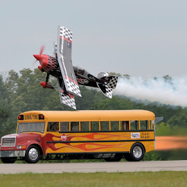 Prometheus and the Bus by Ron Malec - Transportation Airplanes (  )