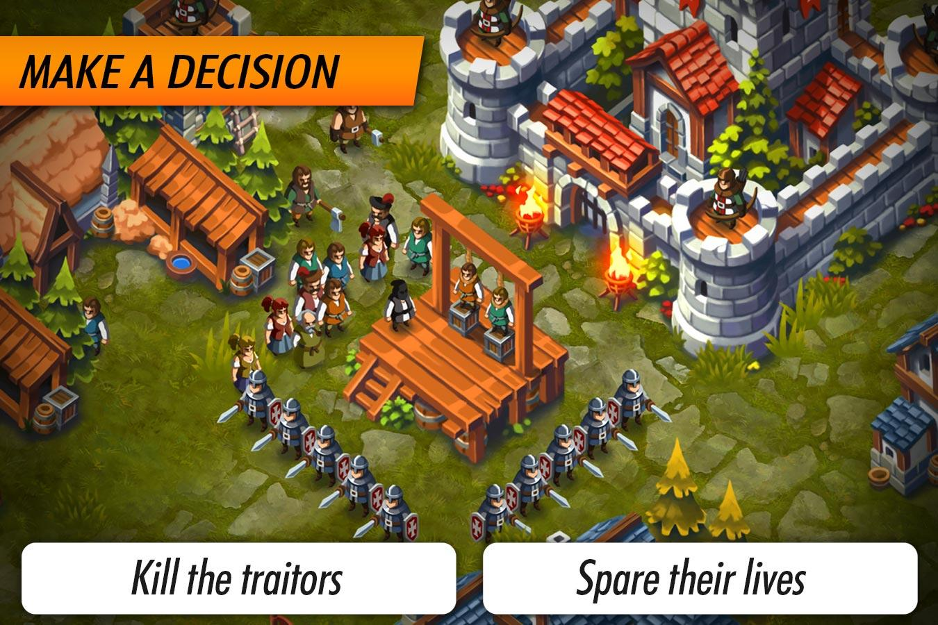 Lords & Castles - RTS MMO Game Screenshot