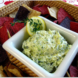 Creamy Zucchini and Goat Cheese Dip
