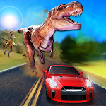 Dinosaur Safari Park Car Sim Icon
