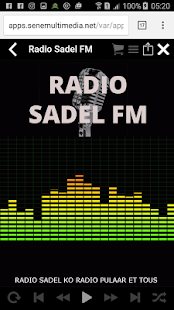 Sadel FM - screenshot