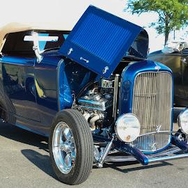 Hot Rod by Gerald Glaza - Transportation Automobiles ( street rod, car, automobile, car show, hot rod )