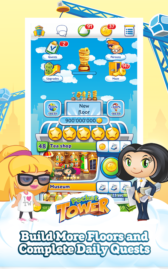 Pocket Tower Screenshot 2