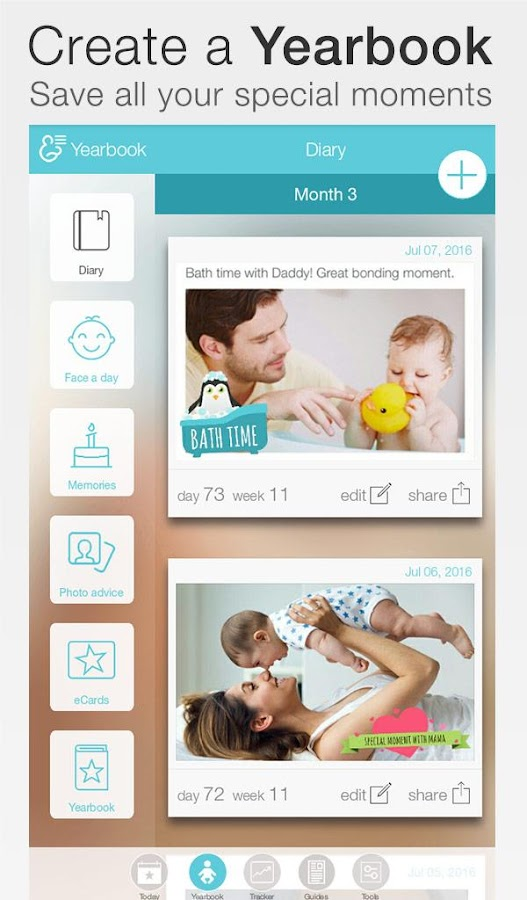 Baby + : your baby tracker Screenshot 13