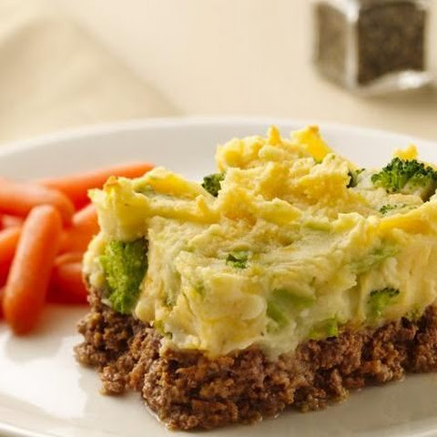 Potato-Topped Meat Loaf Casserole