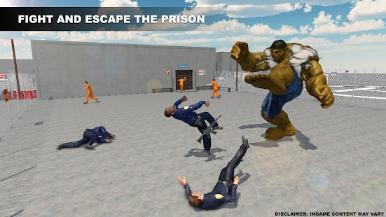 Monster Superhero Prison War