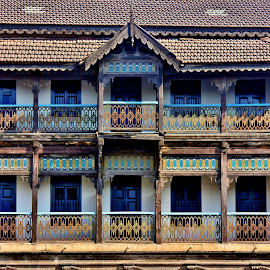 Once upon a time here lived... by Anoop Namboothiri - Buildings & Architecture Homes ( celebrity, home, old, building, street, cultural, anoop namboothiri, historical, antique,  )