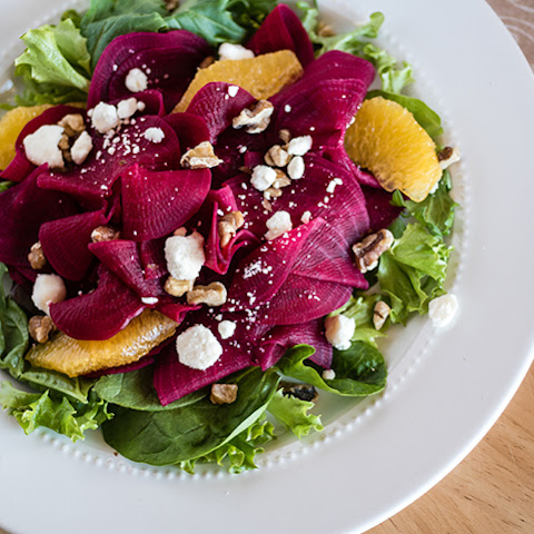 Spiralizer Citrusy Beet Salad