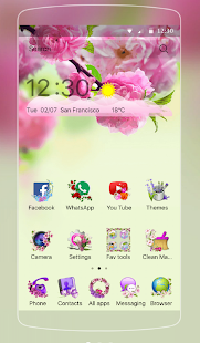 Spring Flowers Theme for Lollipop - Android 5.0