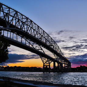 Bluewater Bridge by Julie Quesnel - Buildings & Architecture Bridges & Suspended Structures ( pwcbridges )