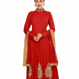 Anarkali Indian dress by Shalini Randhawa - Illustration Products & Objects ( anarkali salwar kameez, latest designer anarkali suits, long anarkali dresses, anarkali salwar suits )
