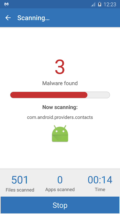 Malwarebytes Anti-Malware Screenshot 3