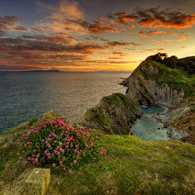 Lulworth ... by Pawel Tomaszewicz - Landscapes Waterscapes ( weymouth, lulworth, durdle, england, poole, hdr, door, dorset )