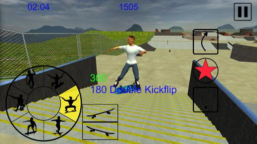 Skating Freestyle Extreme 3D screenshot 1