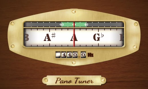 Pano Tuner - Chromatic Tuner for pc