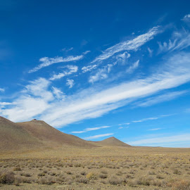 Clouds in the Karoo (SA) by Lanie Badenhorst - Landscapes Cloud Formations