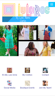 LuLaRoe Lee Anne Clarke - screenshot