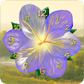 Free Flower Clock Live Wallpaper APK for Windows 8