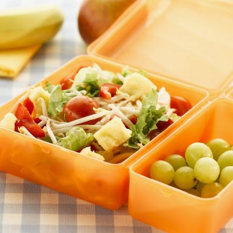 Tomato and Beansprout Packed Lunch