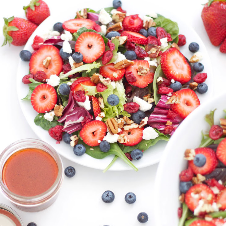 Berries and Feta Salad Recipe | Yummly
