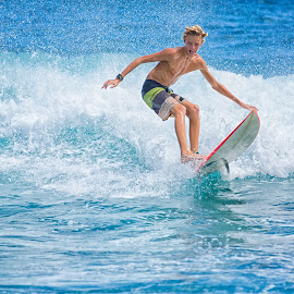 The Ride by Kelley Hurwitz Ahr - Sports & Fitness Surfing ( surf )