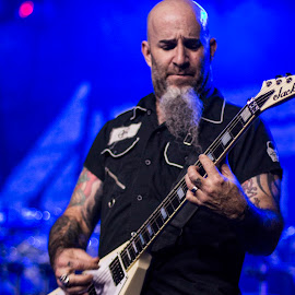 Scott Ian of Anthrax by Greg Reeves - People Musicians & Entertainers ( music, heavy metal, guitarist, scott ian, anthrax,  )