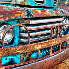 Rusty Ol' Ford by James Martinez - Transportation Automobiles ( history, ford, rustic, old truck )