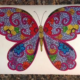 Heavenly by Linda Tribuli - Drawing All Drawing