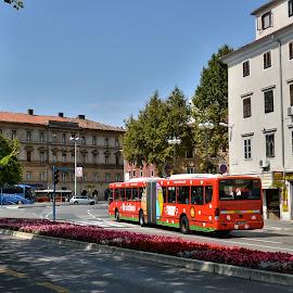 by Slavko Marcac - City,  Street & Park  Street Scenes