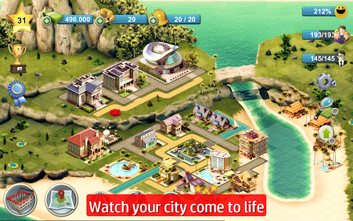City Island 4: Sim Town Tycoon APK for Blackberry