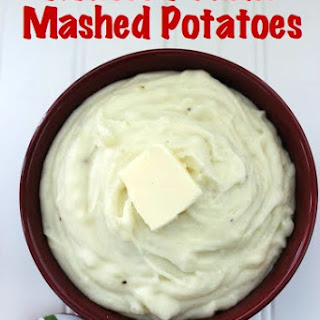 Roasted Garlic Mashed Potato