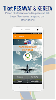 Screenshot of PADICITI - TIKET KERETA API