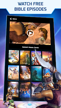 Superbook Bible, Video & Games APK screenshot thumbnail 2