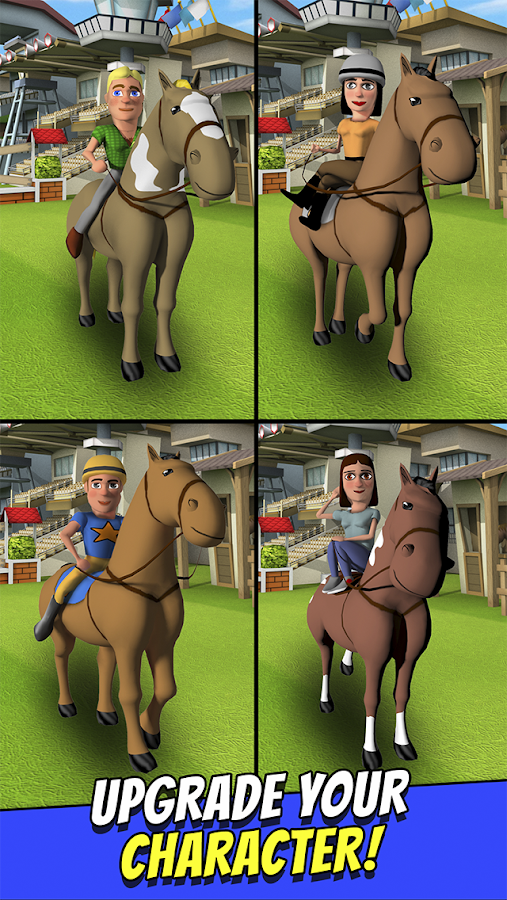 Cartoon Horse Riding Game Free Screenshot 11