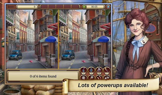 6 Hidden Object Time Crimes Case App screenshot