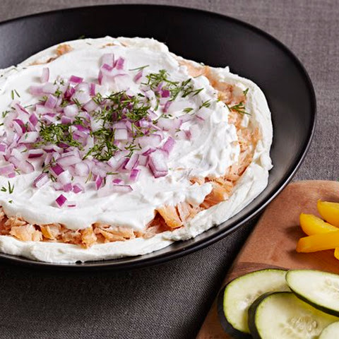 PHILADELPHIA Smoked Salmon and Cream Cheese Dip
