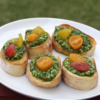 Basil Pesto Crostini Recipes