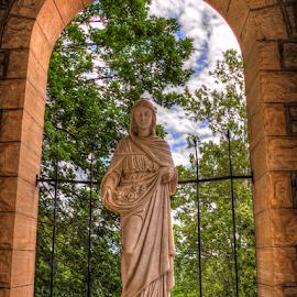 Saint Elizabeth by Darin Williams - Buildings & Architecture Statues & Monuments ( hungary, catholic, church, st elizabeth, eureka springs )