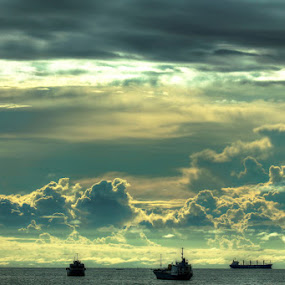 by Ijul Ferdinan - Landscapes Cloud Formations