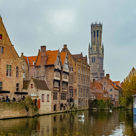 Brugge.... by Ioannis Alexander - City,  Street & Park  Historic Districts (  )