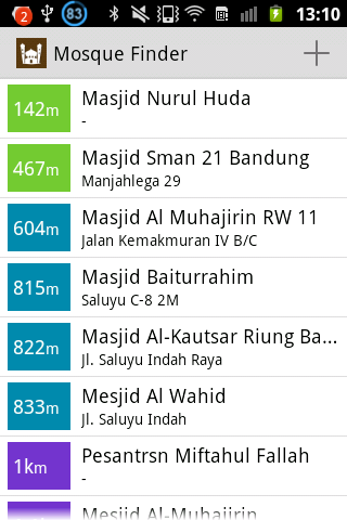 Mosque Finder screenshot 1
