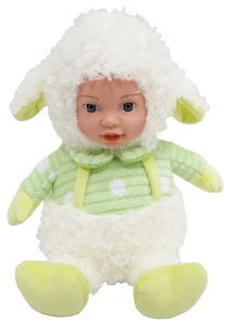 "Кукла ""Anna De Wailly"" Овечка 22см"