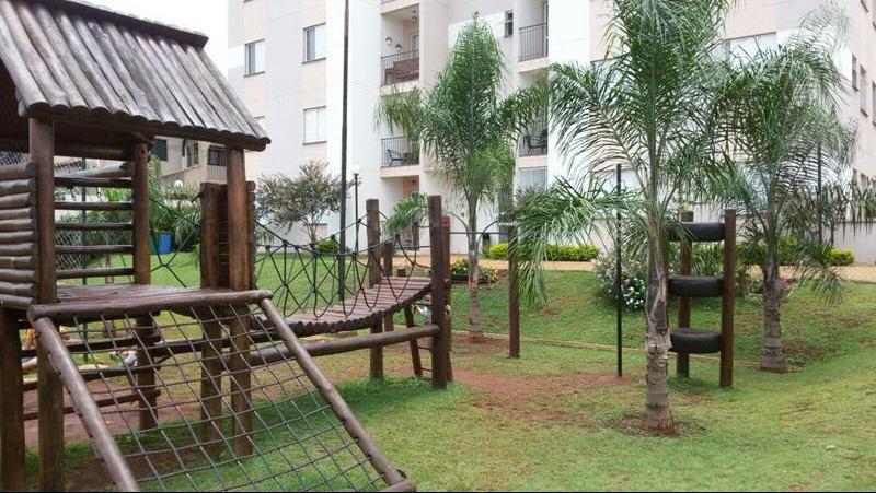 Apartamento residencial à venda, Geraldo Correia de Carvalho, Ribeirão Preto.