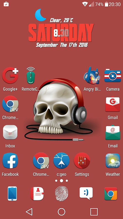 Oniron - Icon Pack Screenshot 3
