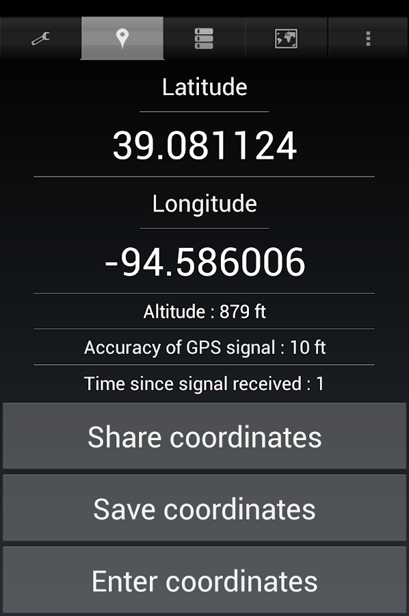 Share My GPS Coordinates Pro Screenshot 18