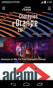 Chorégies d'Orange - screenshot